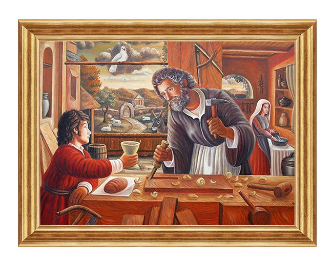 Swieta Rodzina - Obraz religijny na plotnie