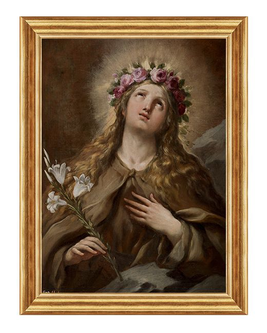 Rozalia z Palermo - Obraz religijny na plotnie