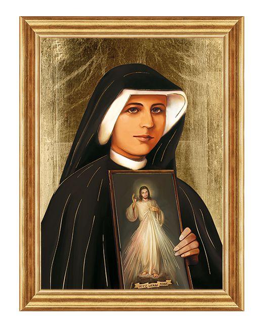 Swieta Siostra Faustyna Kowalska - Obraz religijny