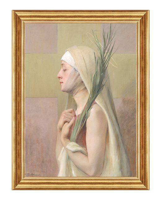 Swieta Tekla - Obraz religijny