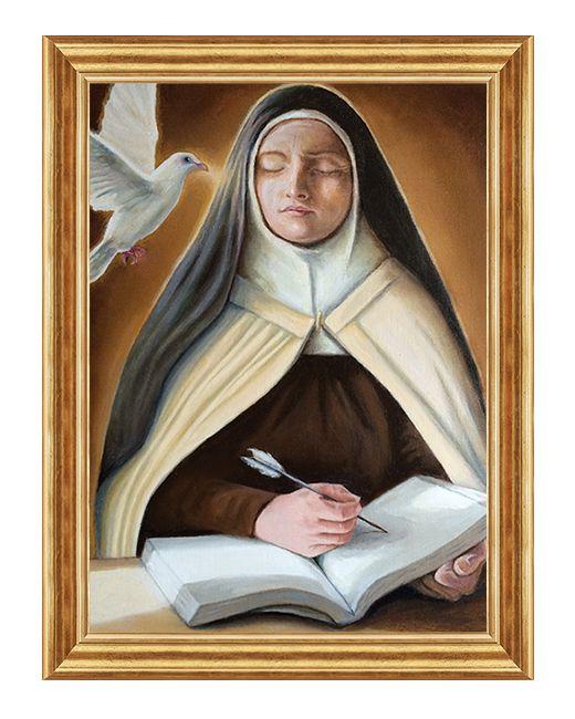 Swieta Teresa z Avili - Obraz religijny