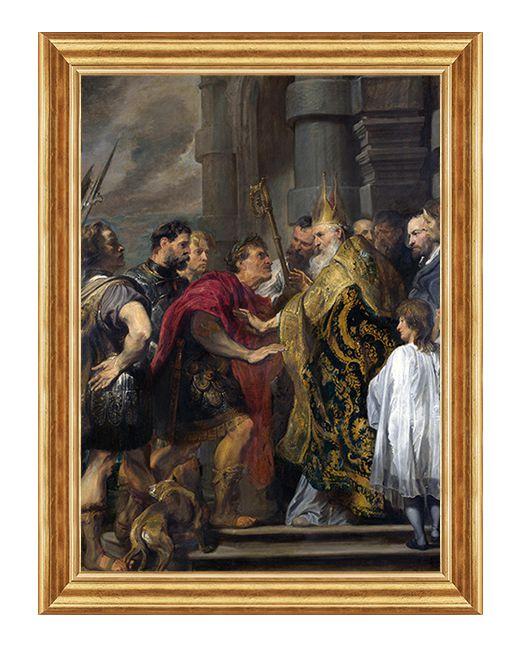 Swiety Ambrozy z Mediolanu - Obraz religijny