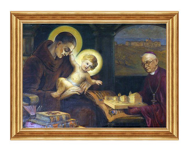 Swiety Antoni z Padwy - Obraz religijny na plotnie