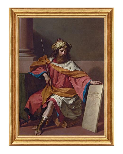 Swiety Dawid Król - Obraz religijny