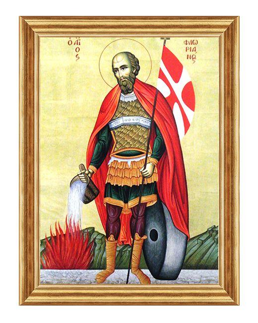 Swiety Florian - Obraz religijny