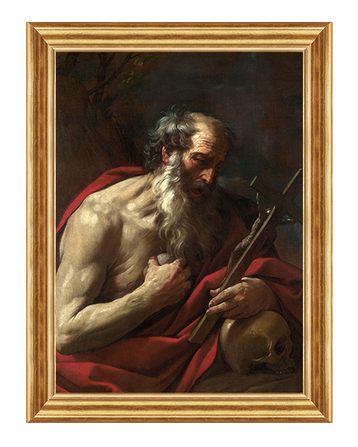 Swiety Hieronim ze Strydonu - Obraz religijny