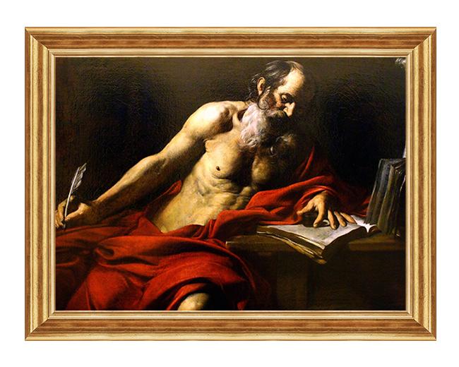 Swiety Hieronim - Obraz religijny na plotnie