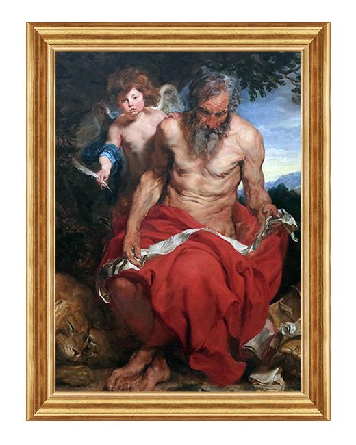 Hieronim - Obraz religijny na plotnie