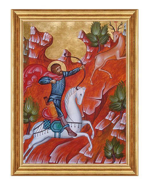 Swiety Hubert - Obraz religijny