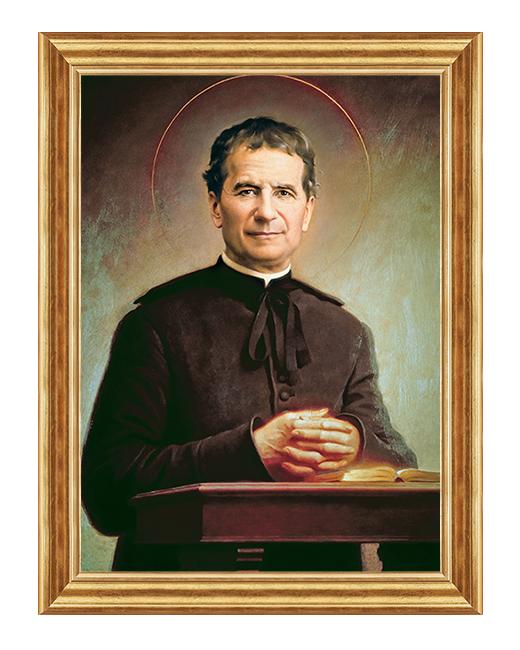 Swiety Jan Bosko - Obraz religijny na plotnie
