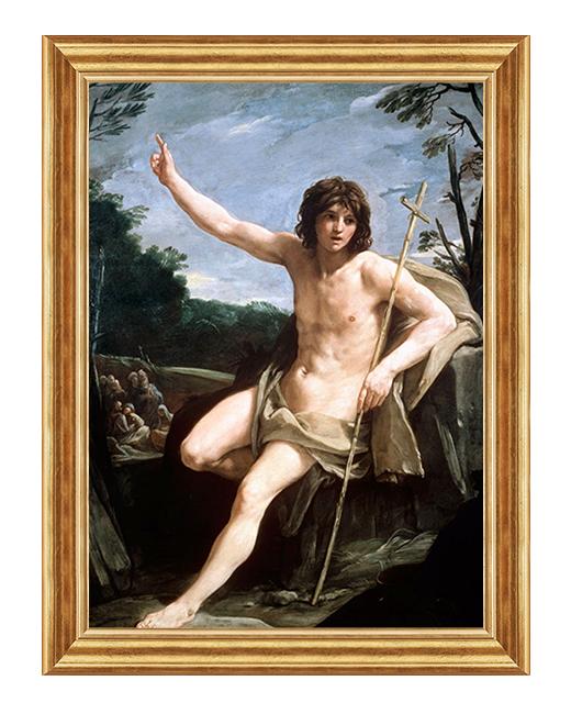 Swiety Jan Chrzciciel - Obraz religijny