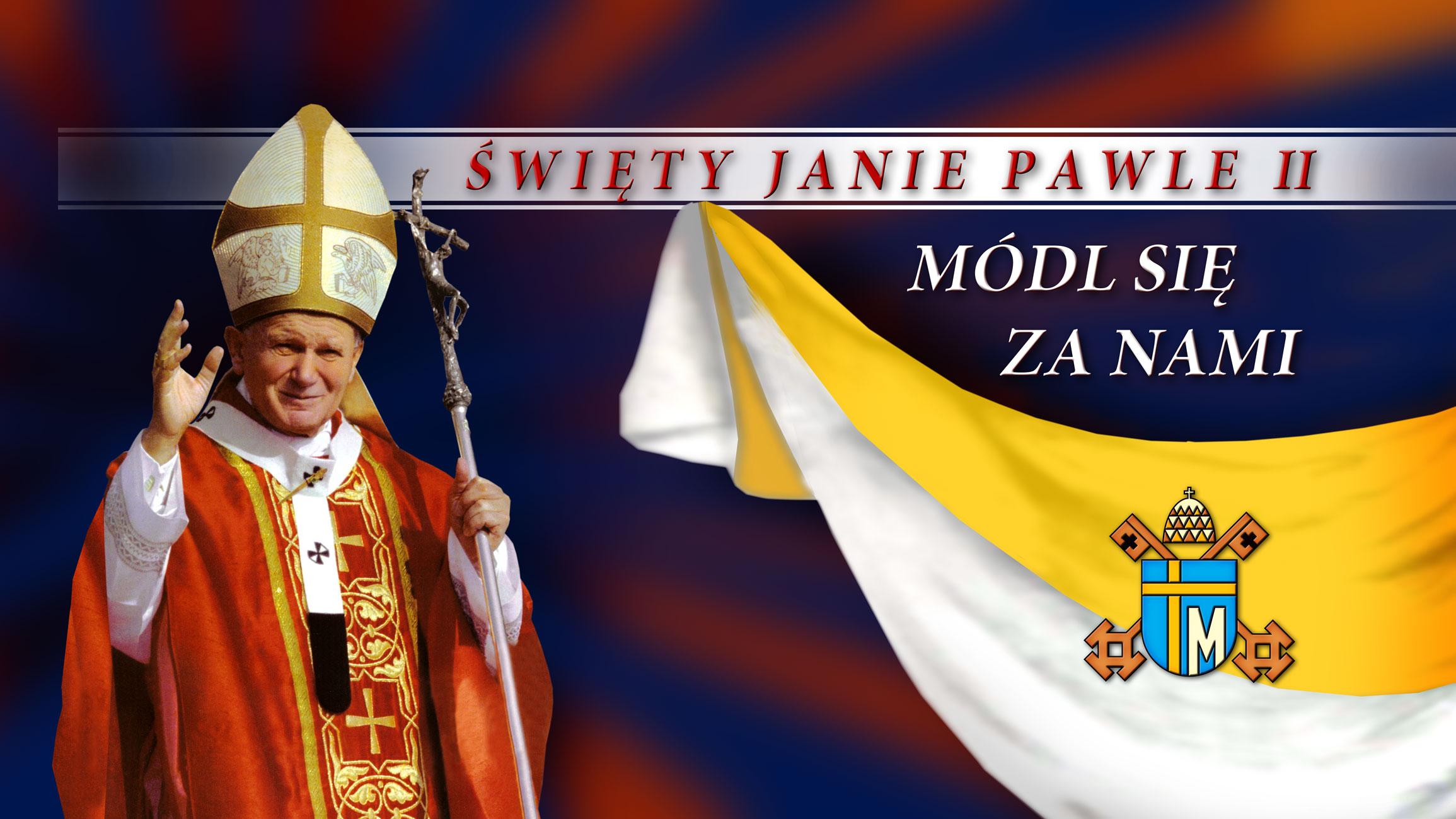 Swiety Jan Pawel II - Dekoracja do Kosciola