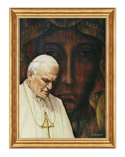 Swiety Jan Pawel II - Obraz religijny