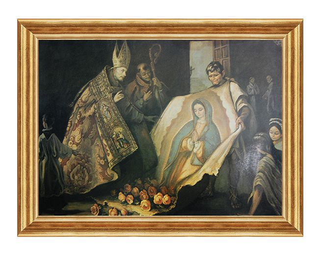 Swiety Juan Diego - Obraz religijny na plotnie