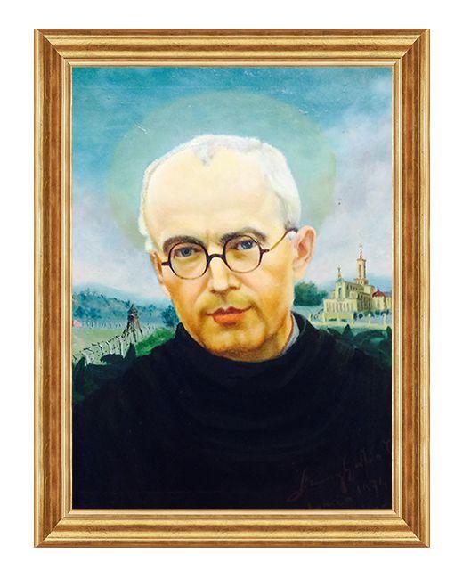 Swiety Makmsymilian Maria Kolbe - Obraz religijny