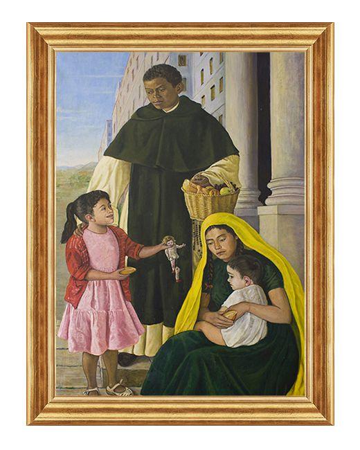 Swiety Marcin de Porres - Obraz religijny