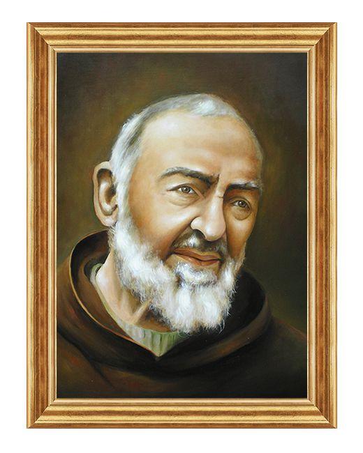Swiety Ojciec Pio - Padre Pio - Obraz religijny
