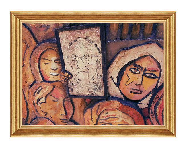 Swiety Oscar Romero - Obraz religijny na plotnie