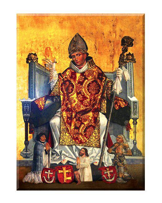 Święty Stanisław ze Szczepanowa - Biskup - 01 - Obraz religijny ::  DlaKsiedza.pl