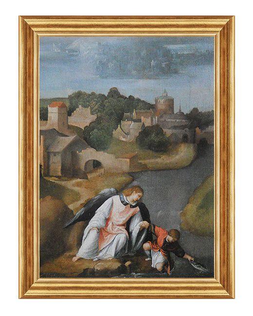 Swiety Tobiasz - Obraz religijny na plotnie