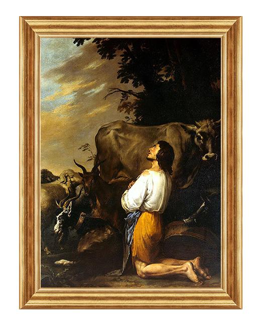 Syn marnotrawny - Obraz biblijny na plotnie
