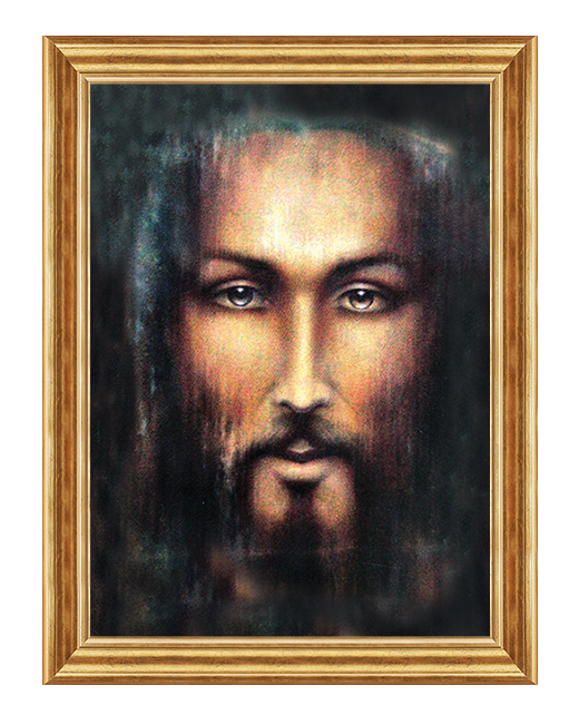 Twarz Jezusa - Obraz na plotnie