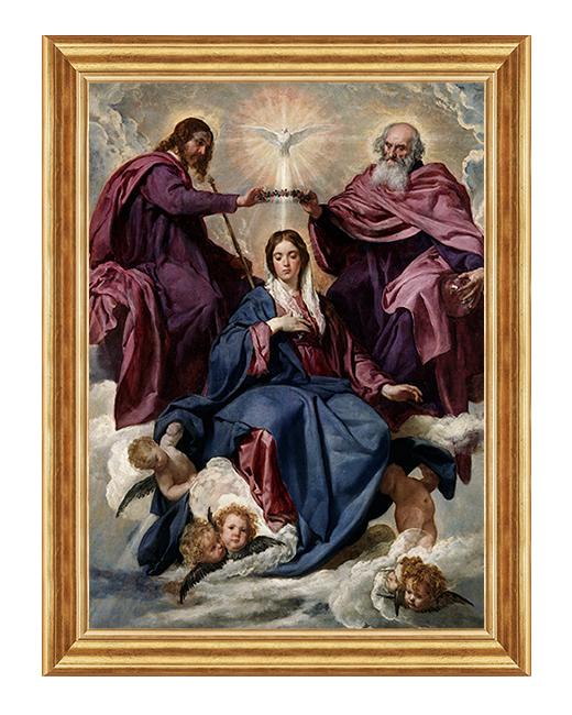 Ukoronowanie NMP - Obraz religijny