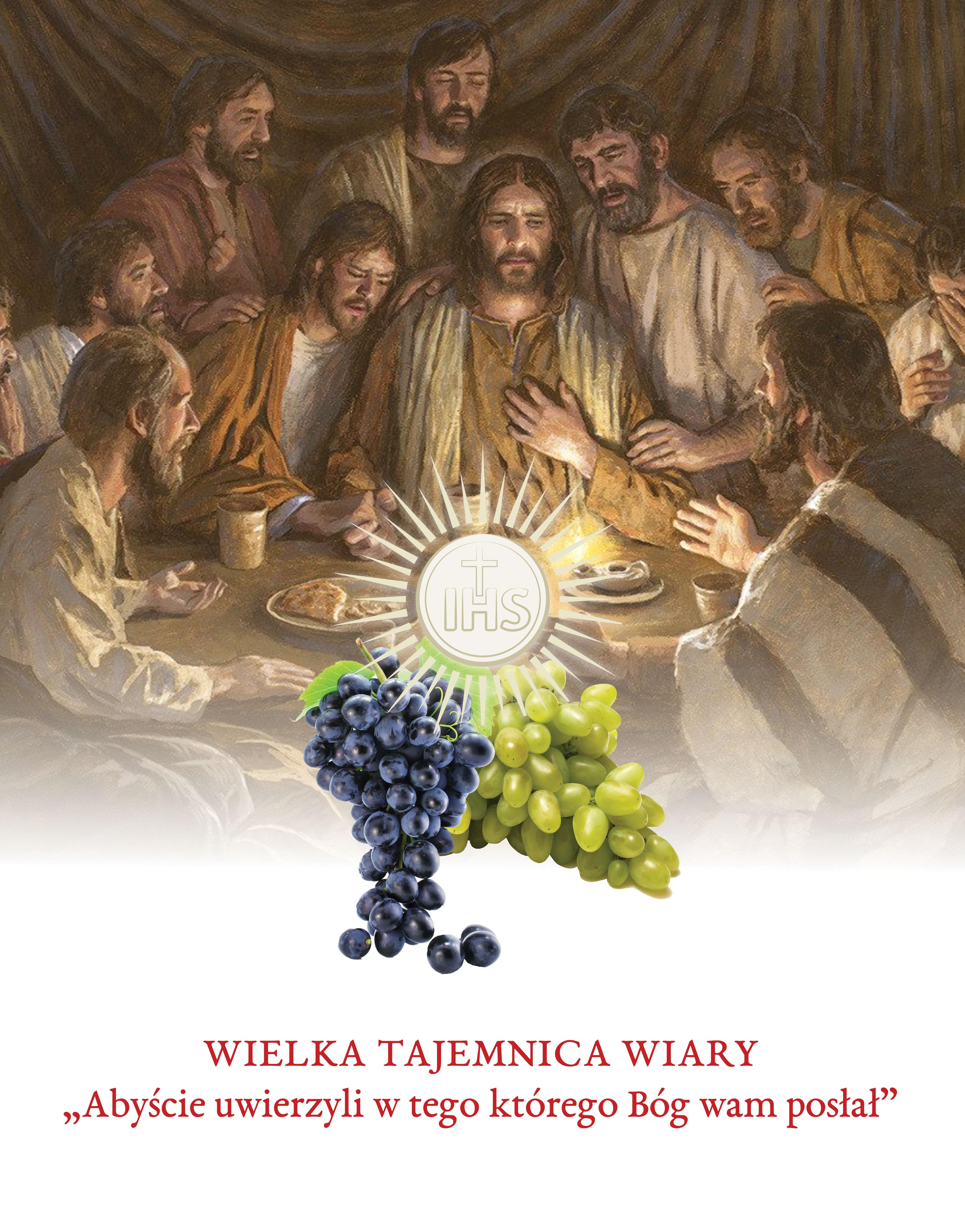 Wielka Tajemnica Wiary - Baner z haslem roku liturgicznego