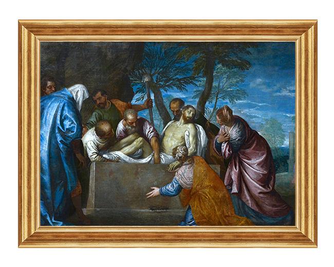 Zlozenie Pana Jezusa z grobu - Obraz na plotnie